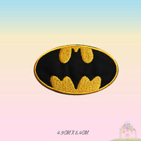 Bat Man Super Hero Movie Embroidered Iron On Patch Sew On Badge Applique