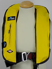 Automatic Harness Soft Yellow LifeJacket