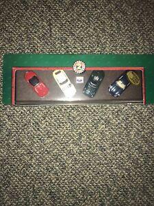 1998 Hot Wheels Collectibles Jaguar Classic 4 Sportscar Set Box Set 1/64 Scale