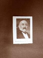 Stampa 1923 Jack La Bolina (A. Vecchi) Collaboratore dell'Illustrazione Italiana