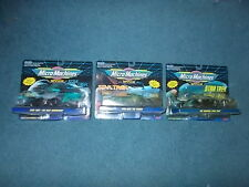 1993 Star Trek Micro Machines MOC THE MOVIES,THE ORIGINAL &  THE NEXT GENERATION