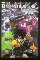 Ghostbusters Crossing Over 1 2018 IDW 1:25 Retailer Incentive Variant Comic Book