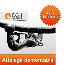 Attelage démontable JEEP Patriot MK74 2007-2011 + faisceau 13 broches