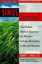SINUS SURVIVAL Robert S. Ivker, D.O. BRAND NEW BOOK Ebay BEST PRICE!