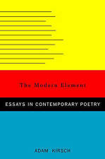 The Modern Element: Essays on Contemporary Poetry-ExLibrary