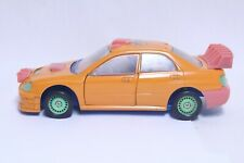 NICE 1/24 SCALE SUBARU WRX RALLY CAR MOLDED PLASTIC SAMPLE / PROTOTYPE