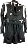 PATRICK Mens FOOTBALL Training SET  TOP & SHORTS Black Size Small A132-2