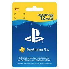 PLAYSTATION PLUS 365 DIAS PSN 12 MESES SUSCRIPCION PS4 PS STORE CODIGO DIGITAL