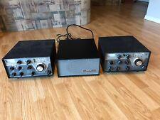 Drake T-4XB Transmitter + MS-4 Speaker / Power Supply + R4B Receiver - Station