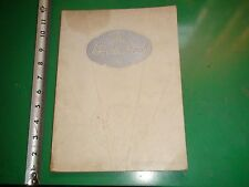 JD028 RARE Vintage Undated Catalog Guide The Bride Book Rogers & Co Chicago