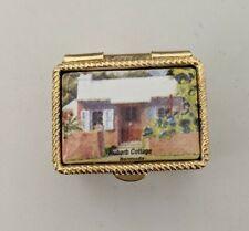 Vintage Pillbox Made In Italy Bermuda Souvenir