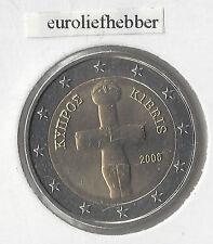 Cyprus    2   Euromunten    2008   UNC  Het betreft de normale 2 Euro