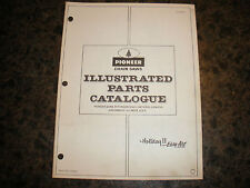 pioneer chainsaw HOLIDAY II EASY 11-72 ILLUSTRATED PARTS LIST  vintage chainsaw