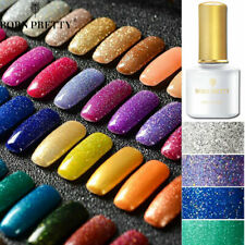 BORN PRETTY Shimmer Glitter UV Gel Polish Soak Off LED Nail Art Varnish DIY 6ml