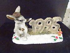 Charming Tails Silvestri Binkey'S Ice Sculpture 1995 87/572 Rabbit