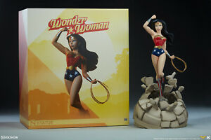 Sideshow Collectibles DC Comics WONDER WOMAN Animated Statue LOW #!! #8/800 NEW