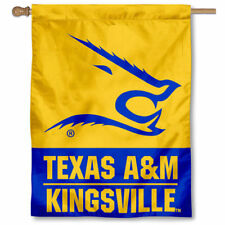 Texas A&M Kingsville Javelinas Two Sided House Flag