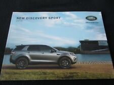 2016 Land Rover New Discovery Sport Sales Catalog SE HSE Luxury Brochure