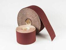 Sandpaper Roll Abrasive 115mm x 100m Sanding Roll - 40 Grit - Euro-Cut