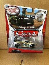 DISNEY CARS DIECAST - Lewis Hamilton With Metallic Finish -Silver Racer Series