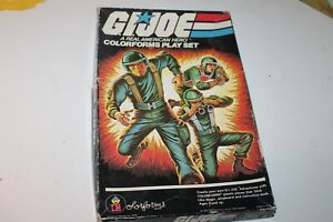 VINTAGE 1982 G.I. JOE A REAL AMERICAN HERO COLORFORMS PLAYSET IN BOX