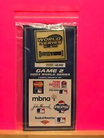 """Brand New ~ 1 of 60,000 MLB Game 2 2004 World Series """"I Live For This"""" Push Pin"""