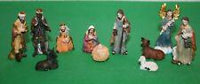 Krippenfiguren 11-teilig 1,3 bis 6 cm h -> Krippenzubehör Polyresin Weihnachten