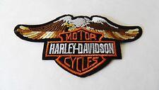 Patch toppa HARLEY- DAVIDSON ricamata termoadesiva -.883 roadster superlow iron