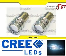 LED Light 5W BA15D White 6000K Two Bulbs Turn Signal DRL Daytime Replace