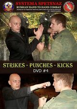 RUSSIAN MARTIAL ARTS DVD #4: Strikes - Punches - Kicks. Russian Systema Spetsnaz