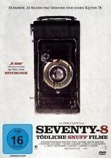"""SEVENTY-8  -  Tödliche Snuff Filme (DVD) *NEU OVP* """"8 mm"""" im Stil von Hitchcock"""