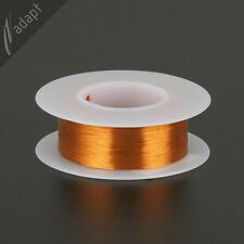 Magnet Wire, Enameled Copper, Natural, 36 AWG, Non-Solder, 200C, ~1/16lb. 775ft