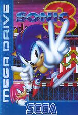 ## Komplett NEUWERTIG: SEGA Mega Drive - Sonic the Hedgehog 3 / MD Spiel ##