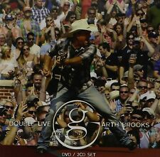 Garth Brooks-DOUBLE Live 2 CD + DVD NUOVO