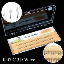 100% schwarze falsche Wimpern 3D handgemachte natürliche Nerz Haar Wimpern KAKI
