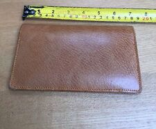 VINTAGE REAL LEATHER WALLET/BILLFOLD - GOLDEN TAN - EXCELLENT CONDITION