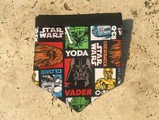 STAR WARS DOG BANDANA - MEDIUM SIZE - Handmade in Australia