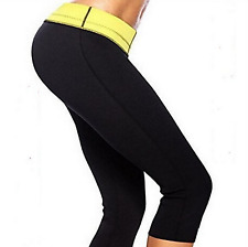 Hot Neoprene Body Shaper Slimming Waist Pants Yoga Vest Sweat Sauna pants