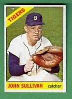 1966 TOPPS #597 JOHN SULLIVAN DETROIT TIGERS HIGH NUMBER NEAR MINT