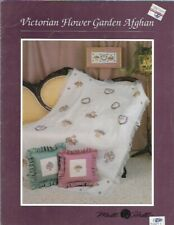 Victorian Flower Garden Afghan by Mill Hill Counted Cross Stitch 1990