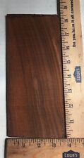 "(5) LOT OF 5, COCOBOLO/HEADPLATES/OVERLAY/PEGHEAD GUITAR/BANJO 8"" X 4"" FREE SHP"