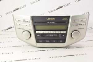 86120-48220 LEXUS RX SERIES XU30 2003-2008 RADIO AUDIO 6 DISC CHANGER CD CASSETT