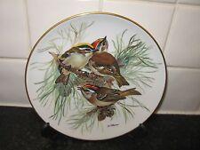 THE  GOLDFINCH   BIRD PLATE -  SONGBIRDS OF EUROPE    - BRADFORD EXCHANGE