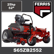 "Ferris S65z 52"" Cut Zero Turn Mower - 25hp Briggs Commerical - Save 000"