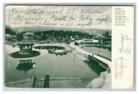 Vintage View from Pavilion of Kingston Point NY c1905 Postcard L27