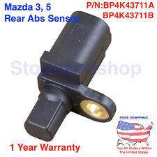 NEW ABS WHEEL SPEED BRAKE SENSOR FOR 2004-2014 MAZDA 3 / 5  REAR LEFT / RIGHT