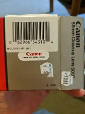 Canon 58 MM Close-Up Lens 500T
