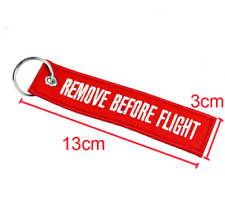 Portachiavi moto Remove before flight originale aeronautica