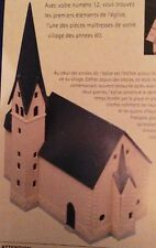 MKD Eglise HO maquette immeuble maison village de France # 12 & 13 FALLER