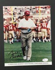 Bobby Bowden Autographed Photo Florida State University Head Football Coach JSA